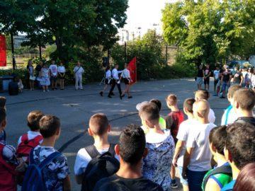 Новата учебна година в Спортното училище започна днес