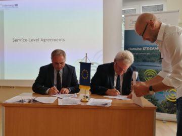 Ръководителите на речните администрации от седем придунавски държави подписаха споразумения за сътрудничество