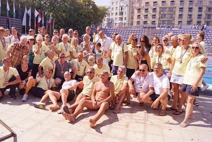 """Плувците на """"Ирис Русе Ветерани"""" са комплексен шампион на България за пета поредна година"""