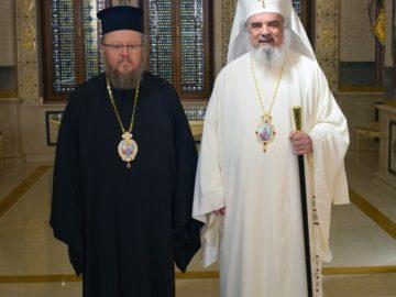Митрополит Наум се срещна с румънския патриарх