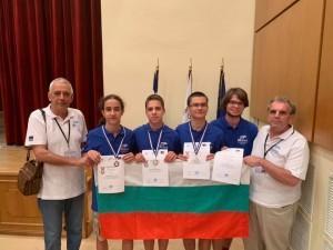 """Виктор Кожухаров от МГ """"Баба Тонка"""" завоюва сребърен медал на 27-мата Балканска олимпиада по информатика в Атина"""