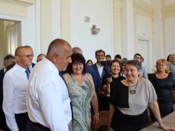 Министър - председателят Б. Борисов посети Русе