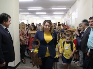 """Новата учебна година бе открита в ОУ """"Никола Обретенов"""" - Русе"""