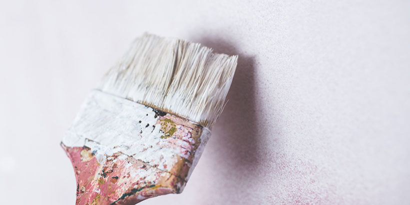 четка боя стена боядисване