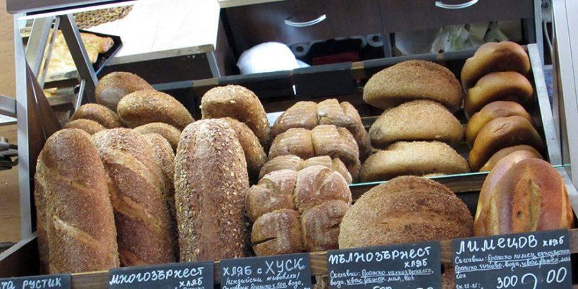 куси хляб хлебарница