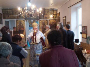Кандидатът за кмет на Община Две могили Б. Борисов присъства на тържествена литургия в Чилнов