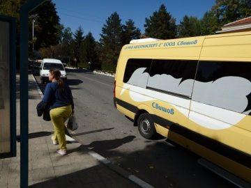 Транспортното обслужване в община Ценово се подобрява