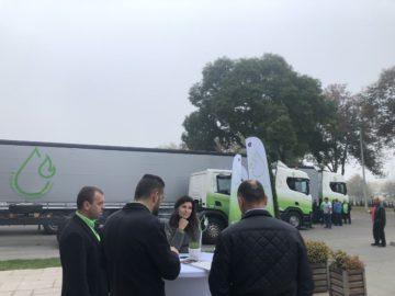 Рентабилност на транспорта и нисък разход на гориво чрез CNG - модерни камиони на метан бяха показани в Русе