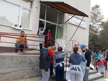 Доброволчески ден се състоя в Дневния център за деца и младежи с увреждания - Русе