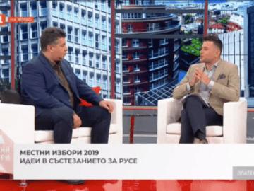 Галин Григоров по БНТ: С №73 в бюлетината за резултатна и необратима промяна в Русе!