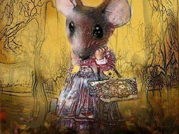 """Мирела Костадинова представя детската книга """"Червените мишки"""" на ученици"""