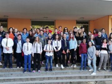 Участници от пет държави гостуваха на СУ за европейски езици по програма Еразъм+