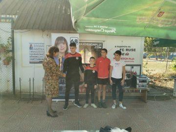 В Русе се проведе футболен турнир по инициатива на кандидата за кмет на МК СДС Елеонора Николова