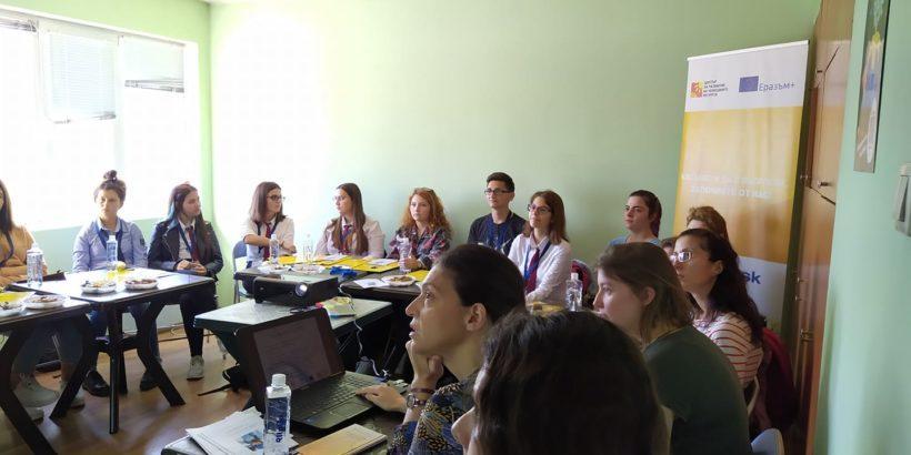 """Кръгла маса """"Популяризиране на младежкото доброволчество. Възможности за развитие"""" се проведе в Русе"""