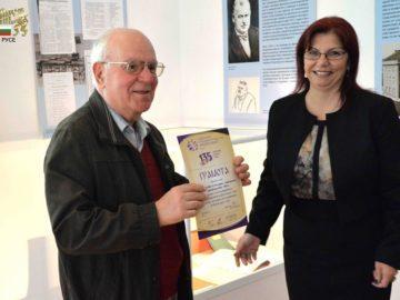 80 години от рождението си чества виден дарител на Държавен архив - Русе