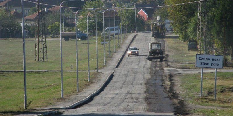 Започна ремонтът на пътя от Сливо поле до Бисерци