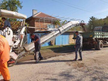 Започна ремонтът на общински улици в Боровско