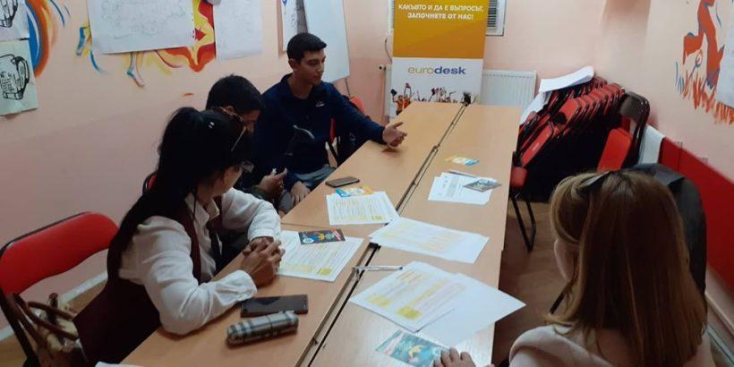 Серия от информационни срещи по време на кампанията Time to Move се проведоха в Русе