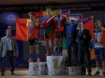 Ангел Русев спечели златен медал на европейското първенство по вдигане на тежести за младежи