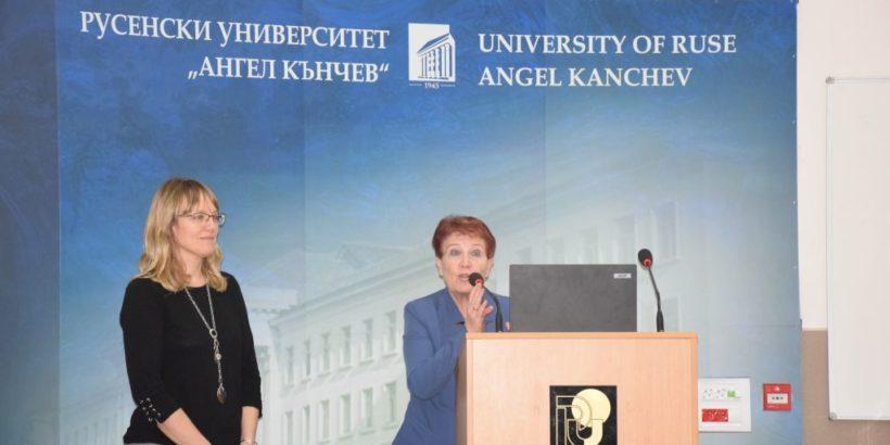 """Българо-американската комисия за образователен обмен, представи стипендии """"Фулбрайт"""" през учебната 2021-22 г. в Русенския университет"""