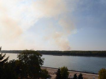 Множество огнища в съседна Румъния са причина за неприятните миризми в Русе