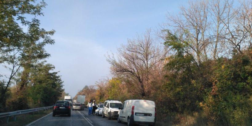 1 е пострадал при вчерашната катастрофа на изхода на Русе към София