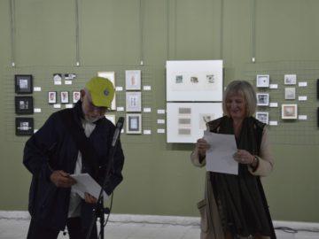 """Открита е изложбата на Седмото Международно биенале """"Изкуството на миниатюрата"""", Русе 2019 г."""