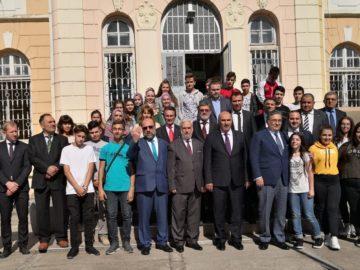 Главният мюфтия на България и дипломати посетиха Духовното училище в Русе