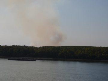 Запалени стърнища в Гюргевско създават проблеми и в Русенско