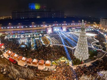коледен базар букурещ румъния