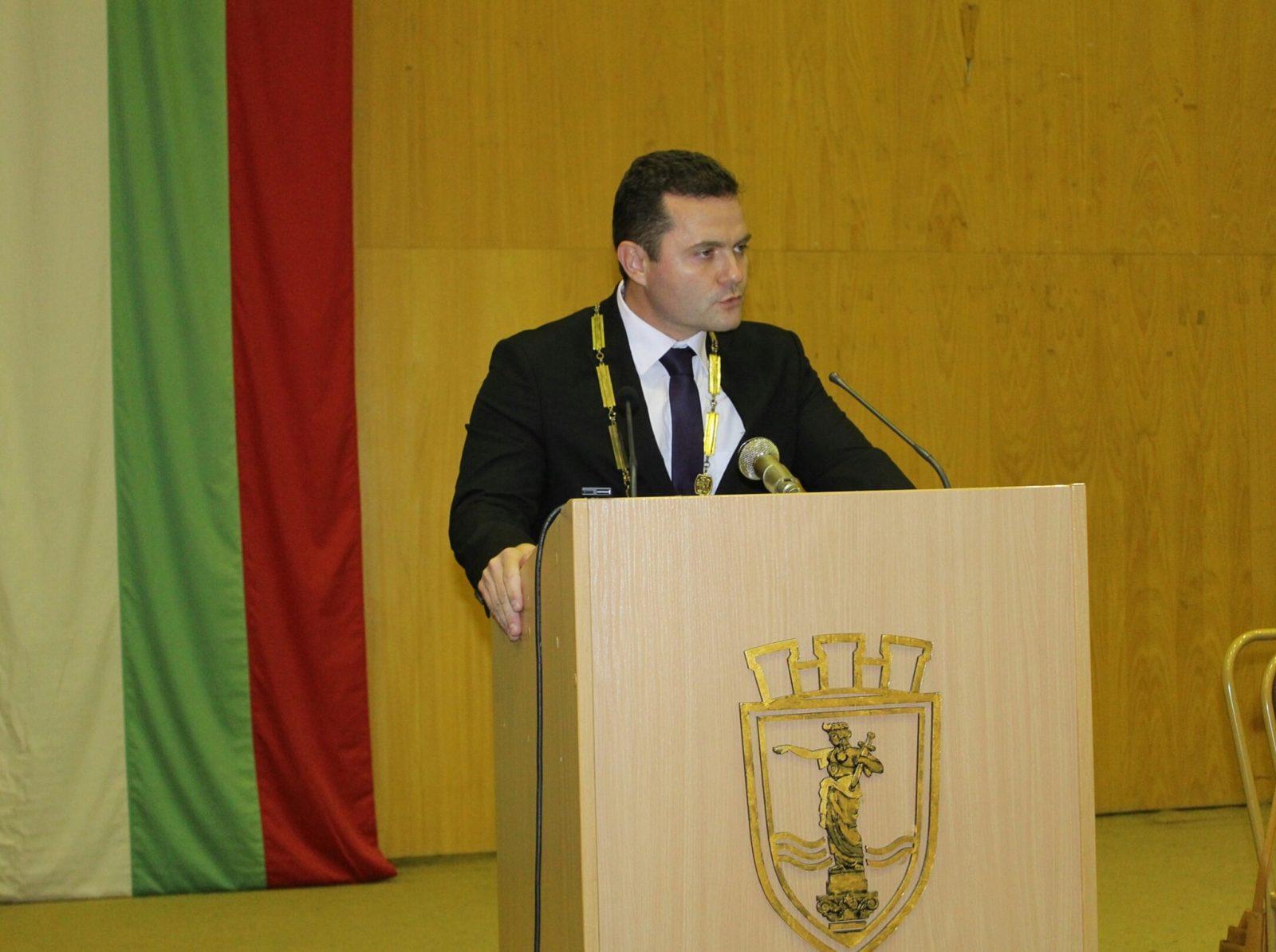 пенчо милков реч като кмет