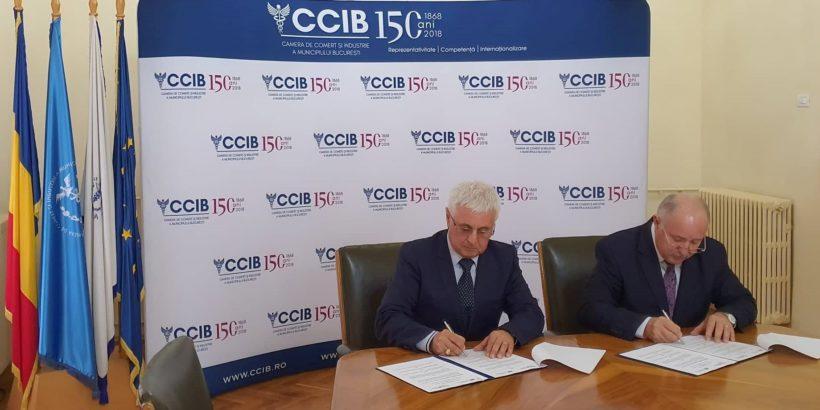 Двете най-стари търговски камари в България и Румъния задълбочават икономическото сътрудничество