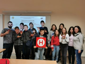 "Русенски университет ""Ангел Кънчев"" организира второ издание на курса ""Блоково програмиране на дронове"""
