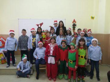 "Нестандартно представяне на роман за деца в СУ ""Йордан Йовков"""