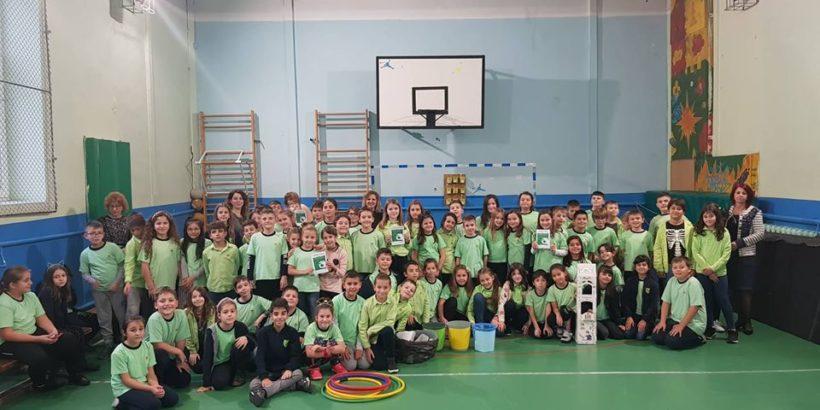 """В ОУ"""" Иван Вазов"""" продължиха инициативите от Европейската седмица за намаляване на отпадъците"""