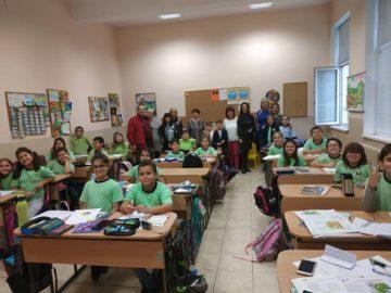 "Бургаски учители и ученици гостуват на иновативното русенско ОУ ""Иван Вазов"""