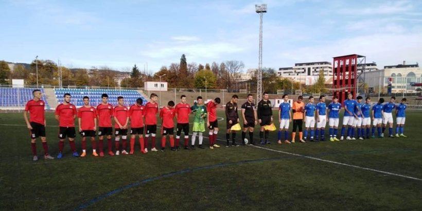 """Юношите старша възраст на Локо (Русе) загубиха с 0:3 гостуването си на """"Спартак"""" във Варна"""