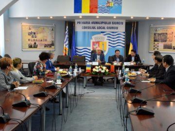 Китайска делегация посети Гюргево