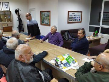 Огнян Беломорски представи новата си стихосбирка