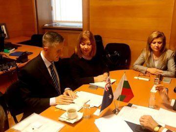 Народният представител Светлана Ангелова участва в работна среща за сътрудничеството между България и Австралия