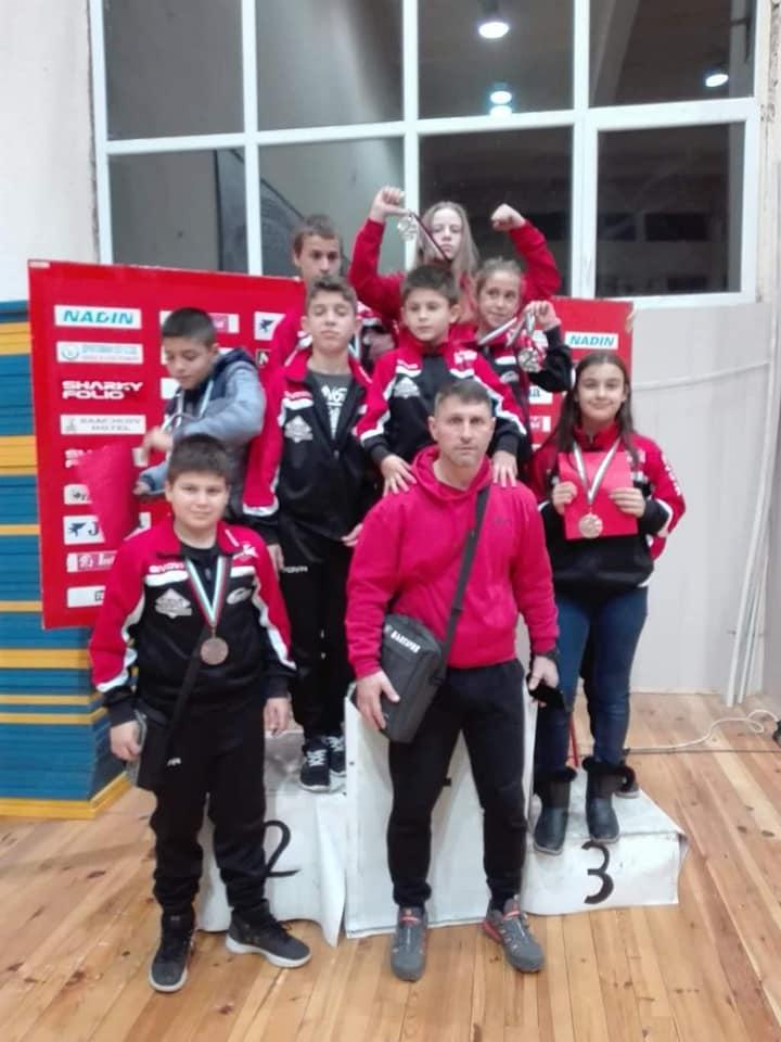 "2 сребърни и 4 бронзови медала за ""Локомотив"" - Русе от международен турнир по джудо"