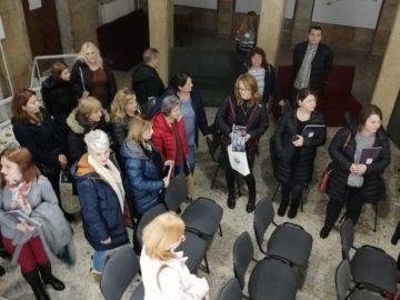 """Регионална библиотека """"Любен Каравелов"""" посрещна екипа на Окръжната библиотека на Долж"""