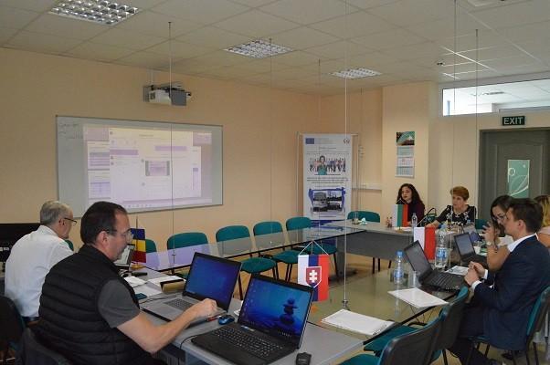 Партньорска среща по проект InoLearn4BEEs се проведе в Русенския университет
