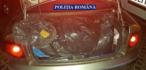 Близо 2 тона тютюн, хиляди заготовки за цигари и пакети задържаха полицаите при мащабна акция в Гюргевско, Кълъраш и Букурещ