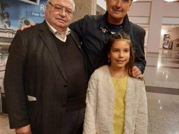 Млада изпълнителка бе изненадата в концерта на Веселин Маринов в Русе