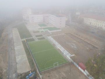 Напредва строителството на новата спортна зала в Бяла