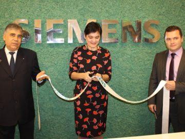 """Откриха новия център за иновации в сградните технологии на """"Сименс"""" в Русе"""