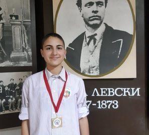 """Златен медал спечели на международен турнир ученик от СУ """"Васил Левски"""""""