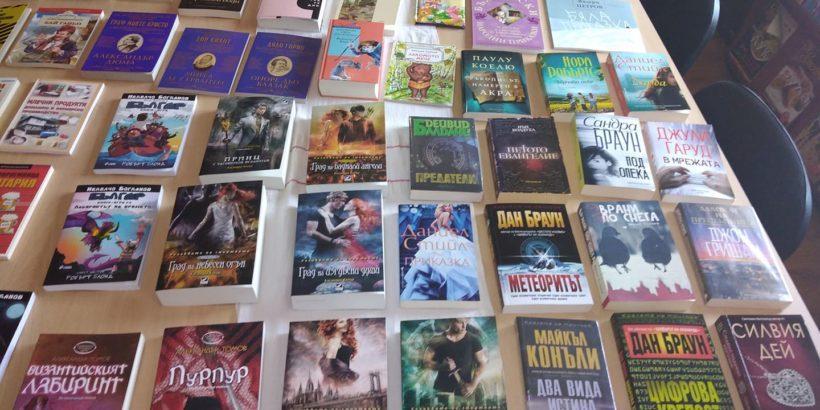 Нови книги влязоха в библиотеката в Беляново по проект