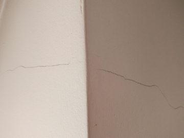 напукана стена